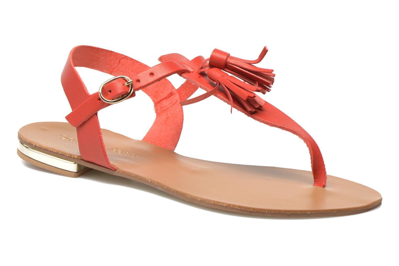 Sandales et nu-pieds Georgia Rose Dormine Rouge vue détail/paire
