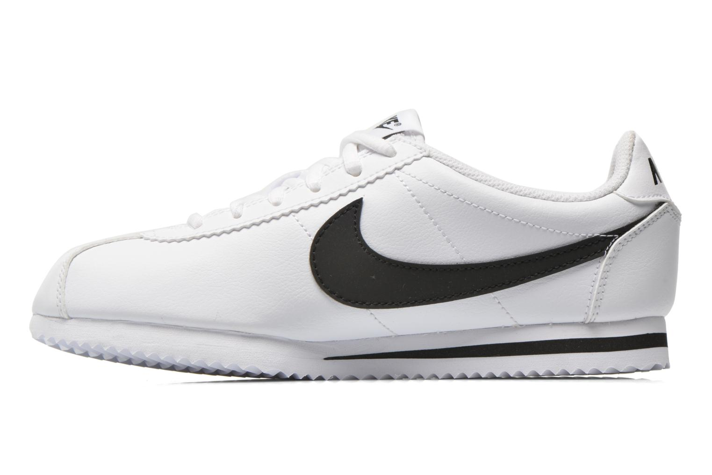 Baskets Nike Nike Cortez (Gs) Blanc vue face