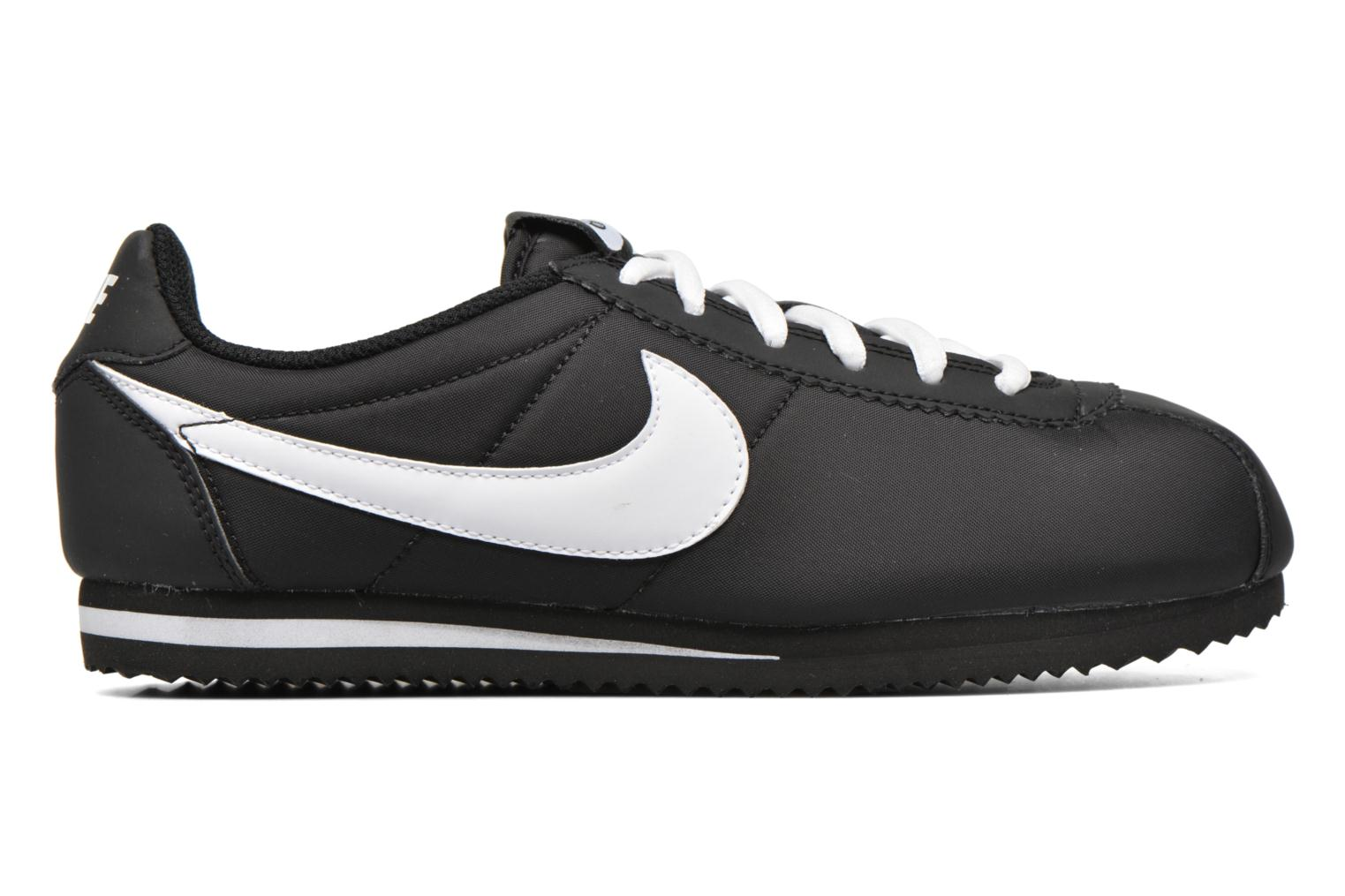 Nike Cortez Nylon (Gs) Black white 2