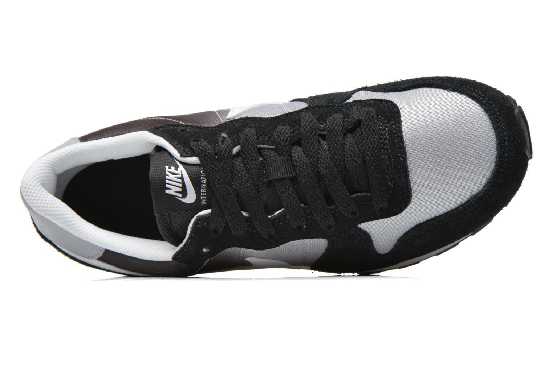 Sneaker Nike Nike Internationalist (Gs) schwarz ansicht von links