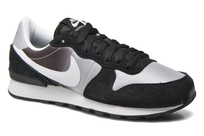 Nike Internationalist (Gs) Black White-Wolf Grey
