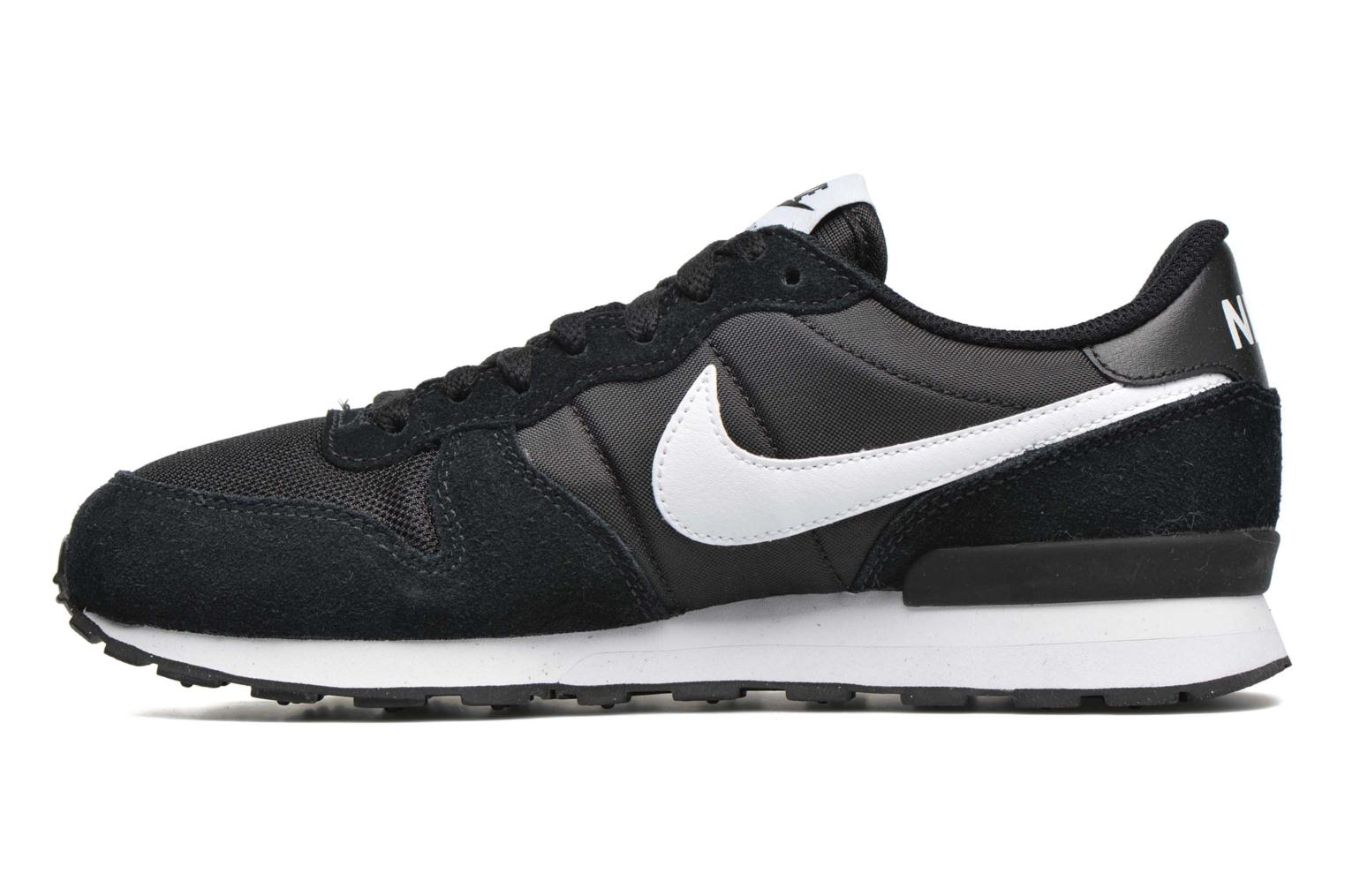 Trainers Nike Nike Internationalist (Gs) Black front view