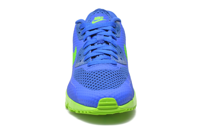 Baskets Nike Nike Air Max 90 Br (Gs) Bleu vue portées chaussures