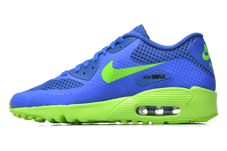 Baskets Nike Nike Air Max 90 Br (Gs) Bleu vue face