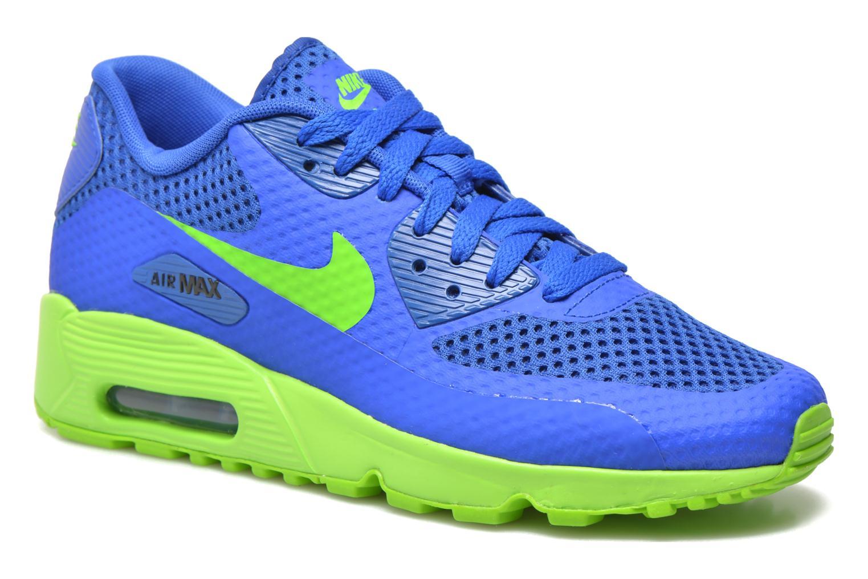 Baskets Nike Nike Air Max 90 Br (Gs) Bleu vue détail/paire