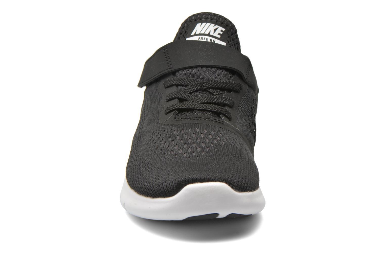 Deportivas Nike Nike Free Rn (Psv) Negro vista del modelo