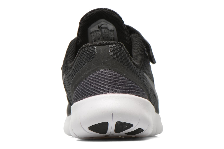 Nike Free Rn (Psv) Black Metallic Silver-Anthrct