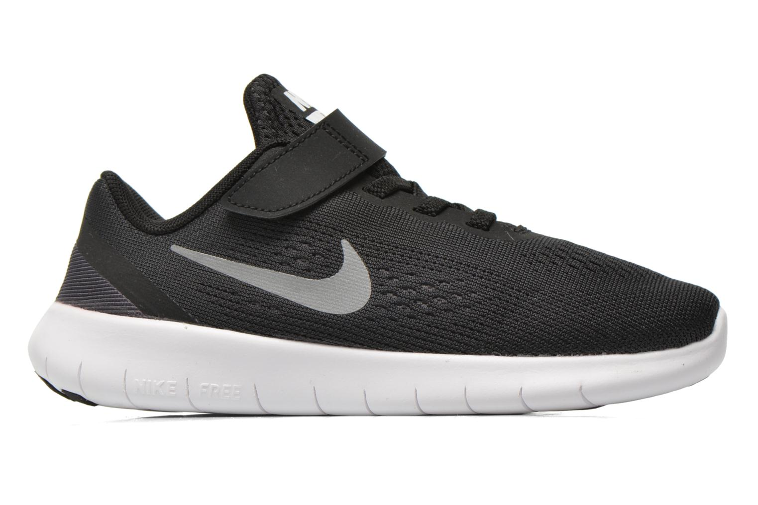 Nike Free Rn (Psv) Black Metallic Silver-Anthrct