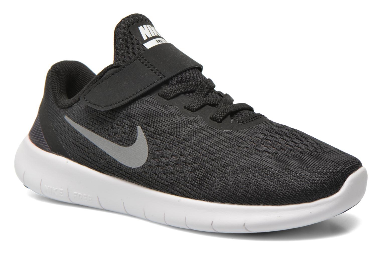 Deportivas Nike Nike Free Rn (Psv) Negro vista de detalle / par