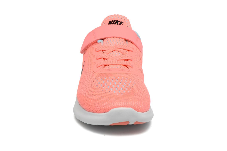 Nike Free Rn (Psv) Lava Glow/Metallic Silver-Black