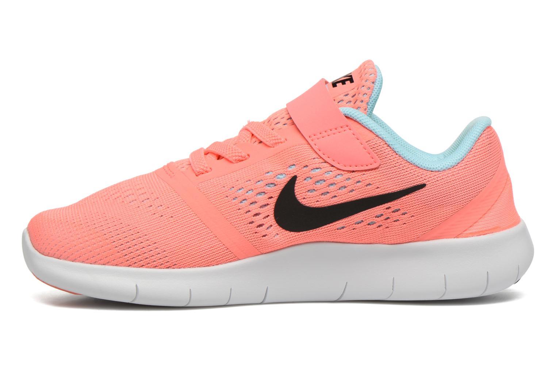 Baskets Nike Nike Free Rn (Psv) Rose vue face