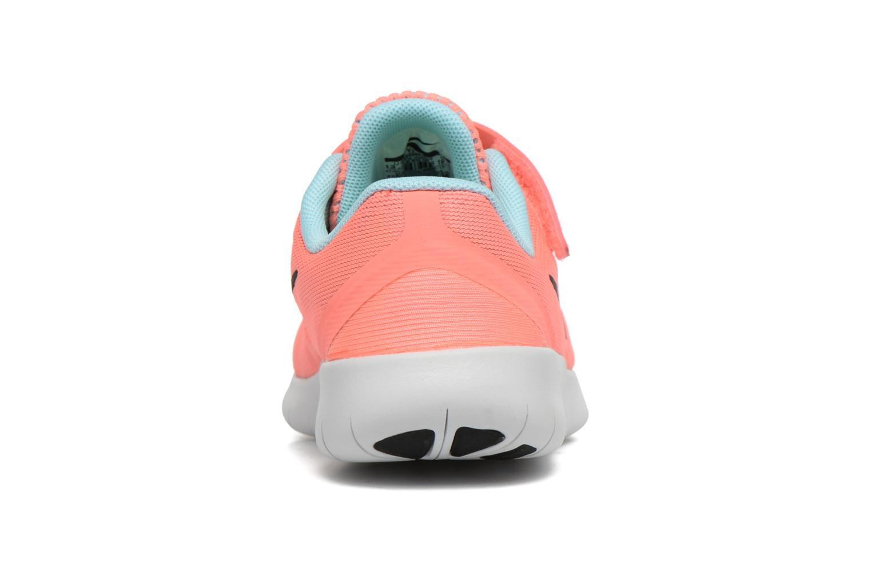 Sneaker Nike Nike Free Rn (Psv) rosa ansicht von rechts