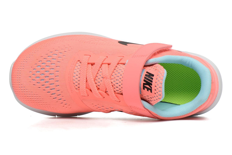 Sneaker Nike Nike Free Rn (Psv) rosa ansicht von links