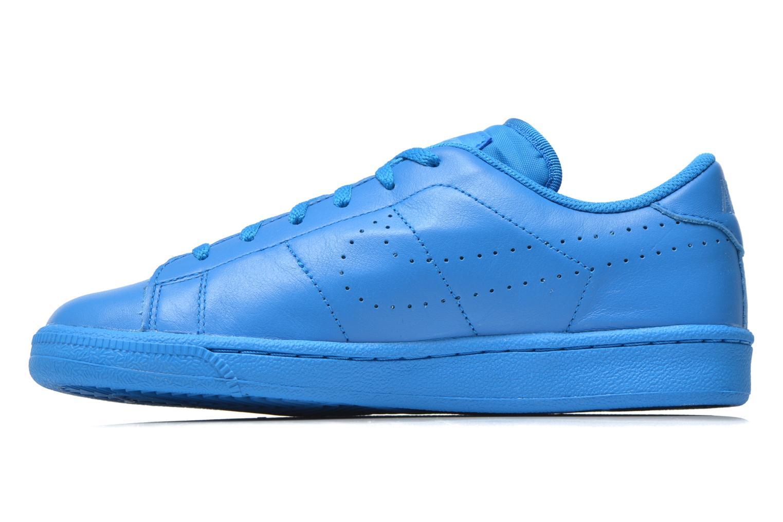 Sneaker Nike Tennis Classic Prm (Gs) blau ansicht von vorne