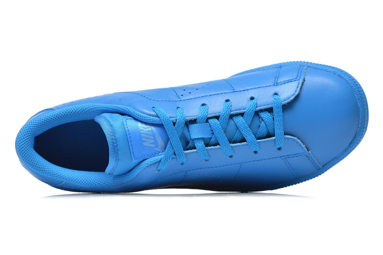Sneaker Nike Tennis Classic Prm (Gs) blau ansicht von links
