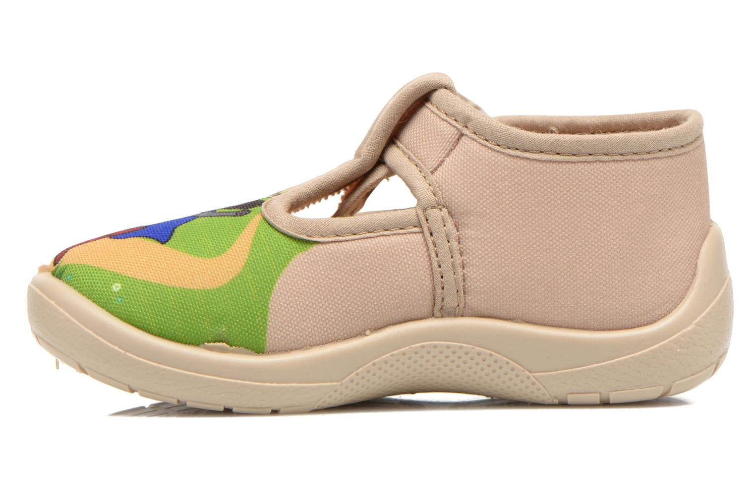 Chaussons Little Mary Sonchat2 Beige vue face