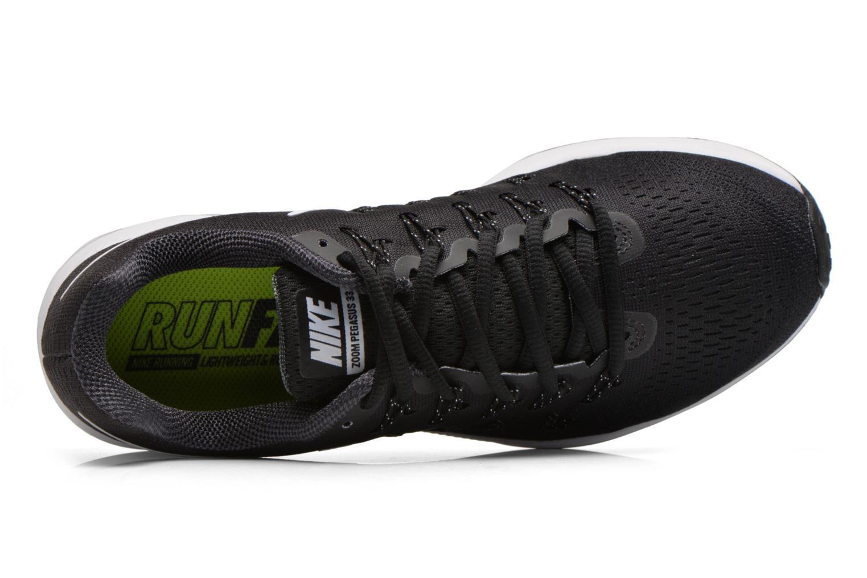 Sportschuhe Nike Nike Air Zoom Pegasus 33 schwarz ansicht von links