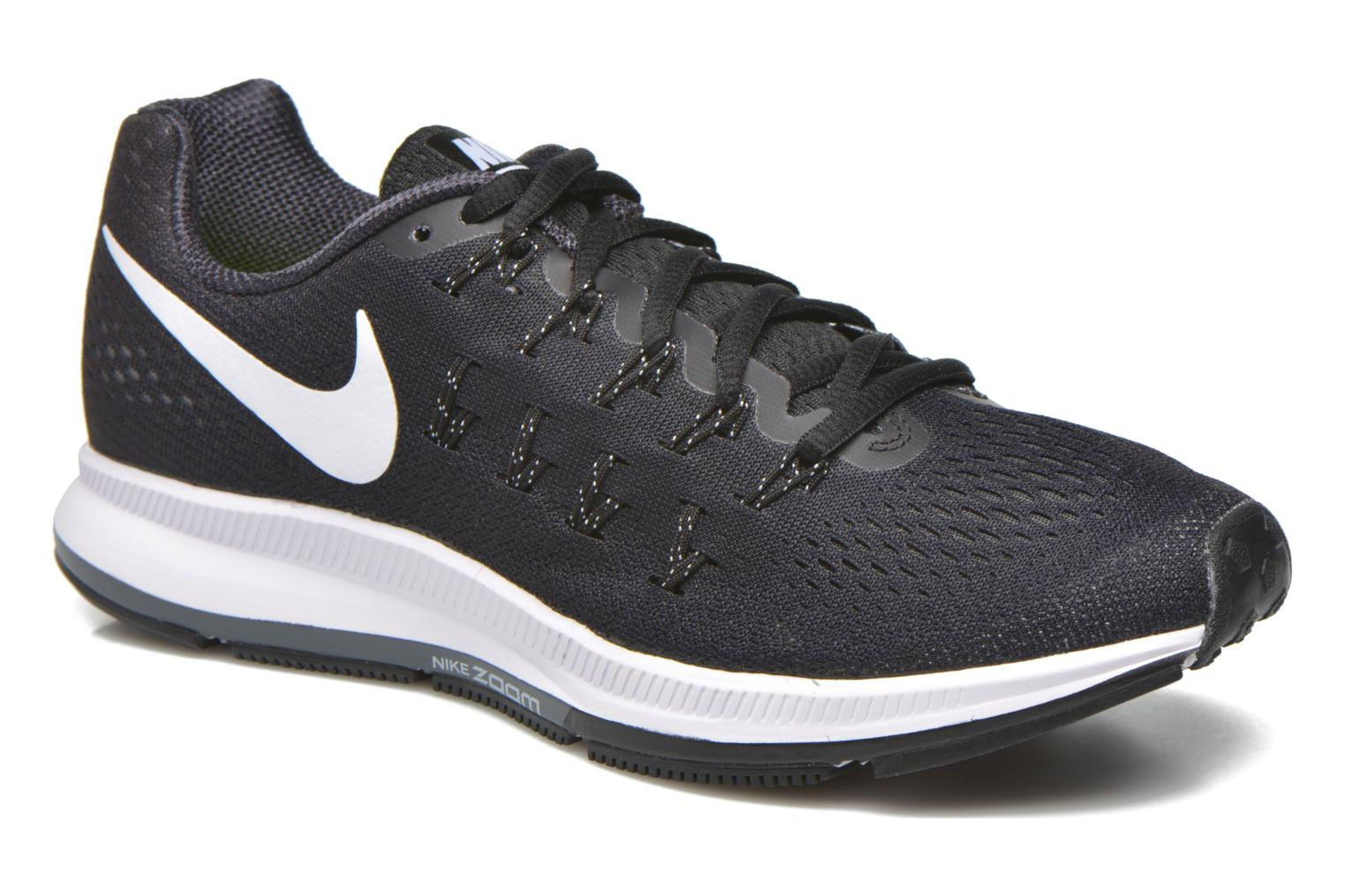 Wmns Nike Air Zoom Pegasus 33 BLACK/WHITE-ANTHRACITE-CL GREY