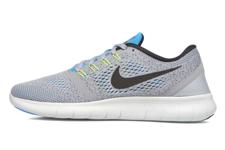 Chaussures de sport Nike Nike Free Rn Gris vue face