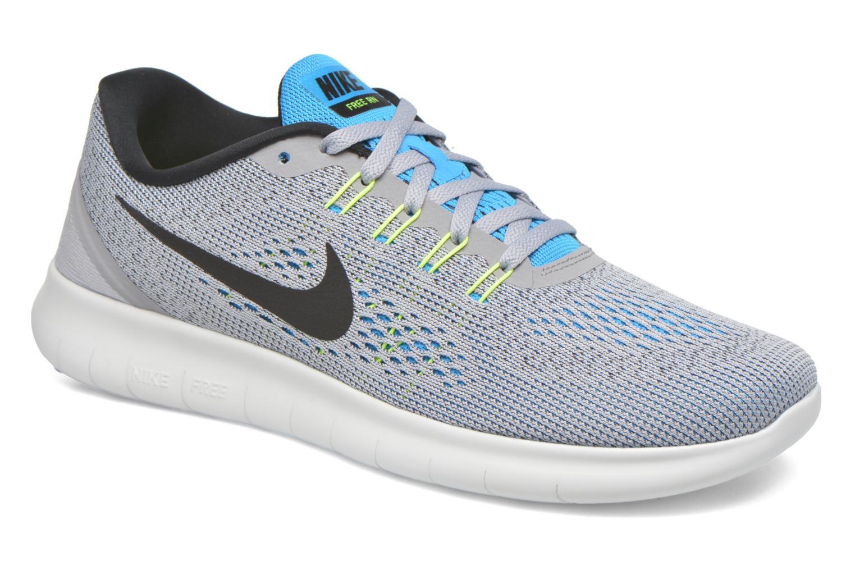 Chaussures de sport Nike Nike Free Rn Gris vue détail/paire