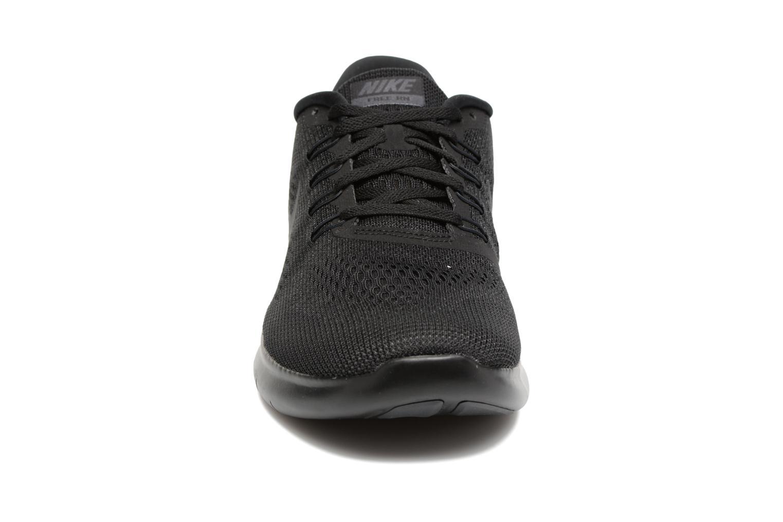 Chaussures de sport Nike Nike Free Rn Noir vue portées chaussures