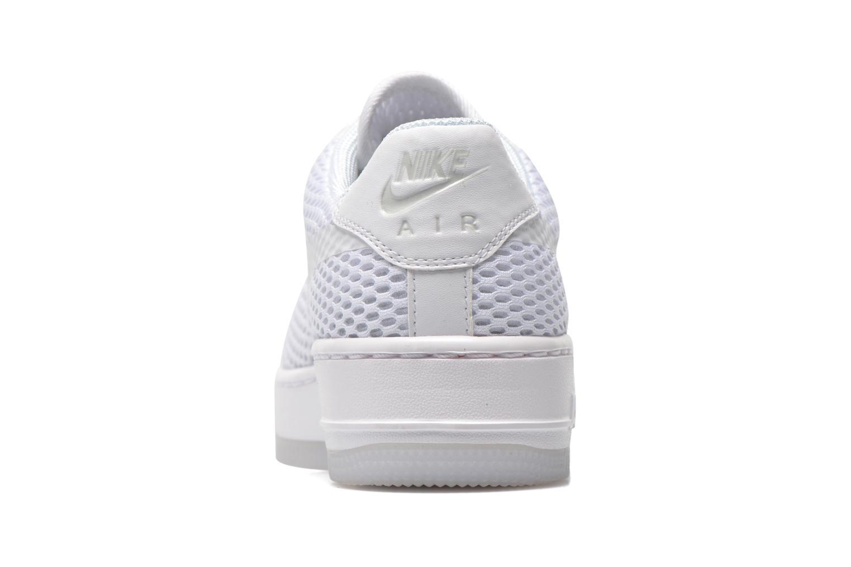 Black/black-cool grey Nike W Af1 Low Upstep Br (Noir)