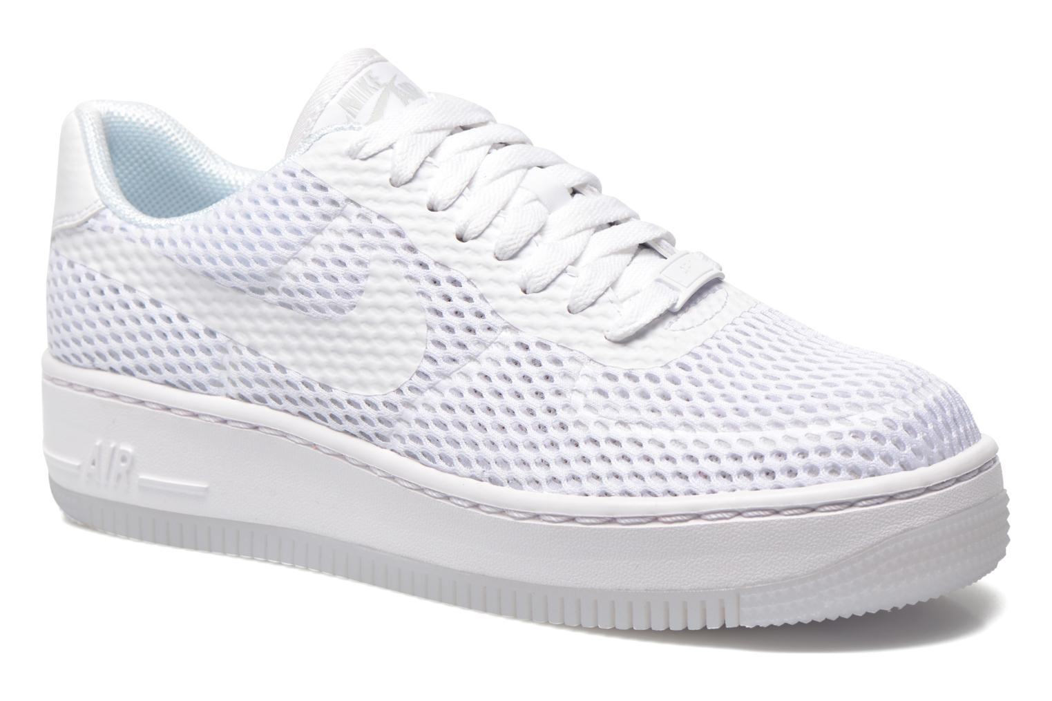 Baskets Nike W Af1 Low Upstep Br Blanc vue détail/paire