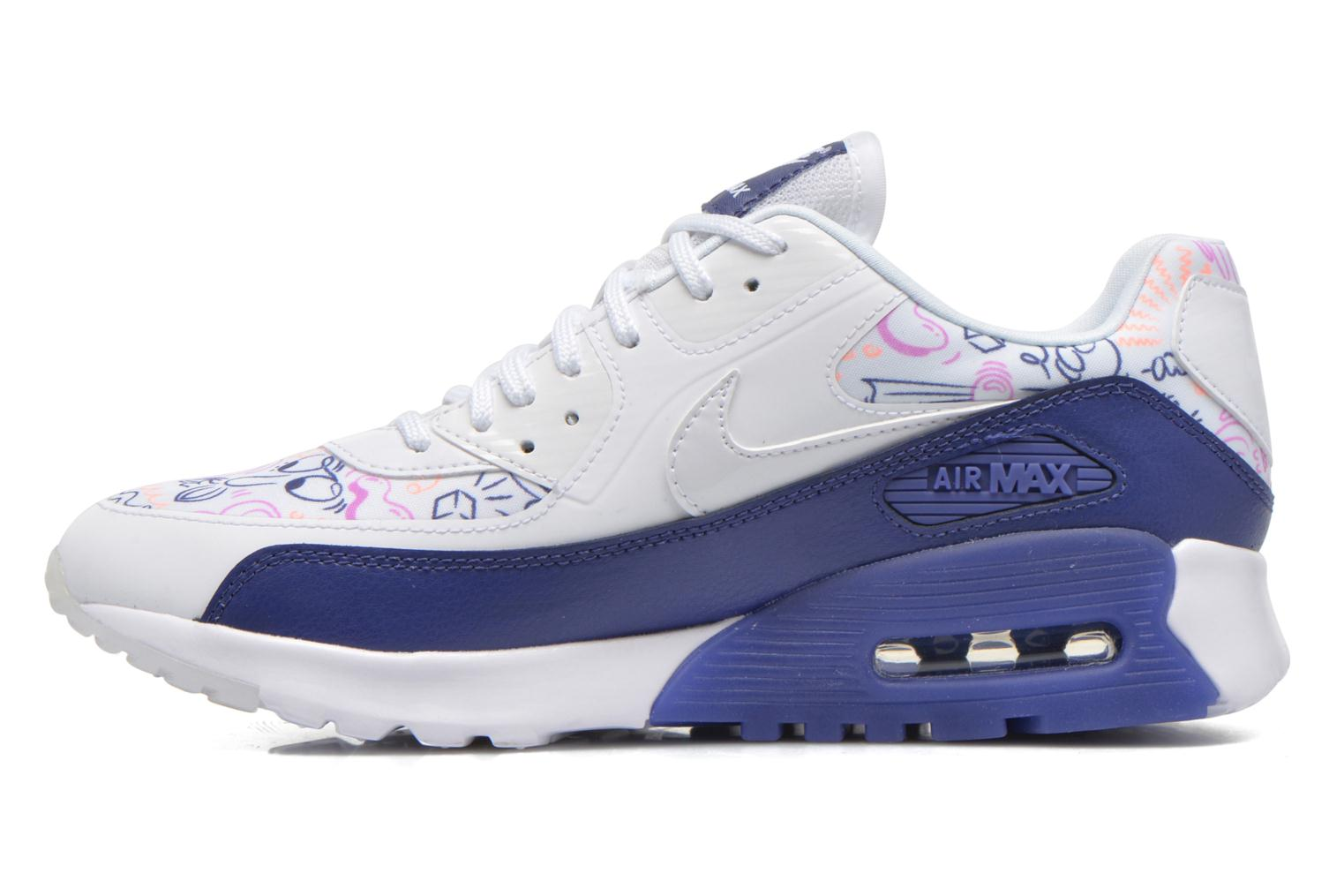 Nike W Air Max 90 Ultra Print Wit Outlet Verhandelbare opruiming NVLuOFyWkN