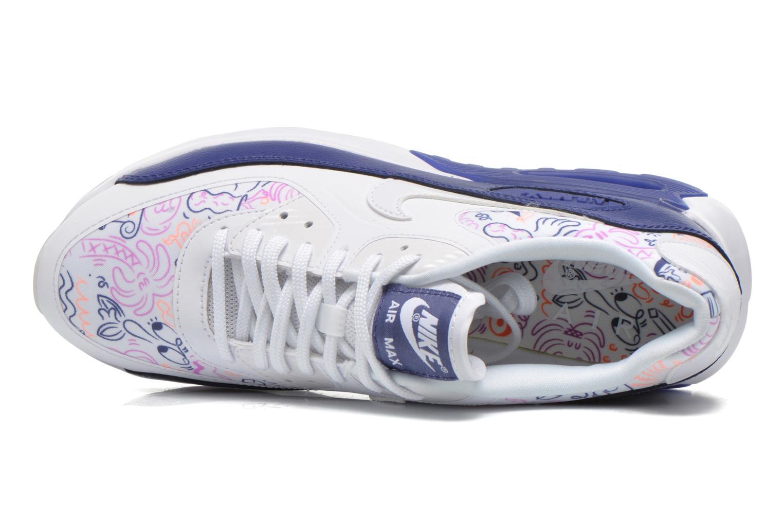 W Air Max 90 Ultra Print White/White-Dk Purple Dust