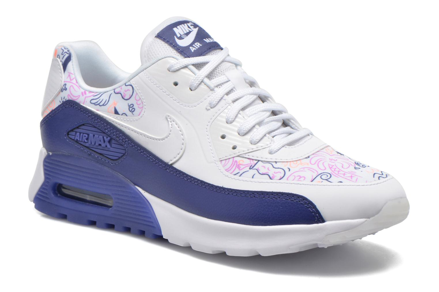 Nike Dust Print Ultra Air White Purple Dk Max White 90 W ZZxOrq7