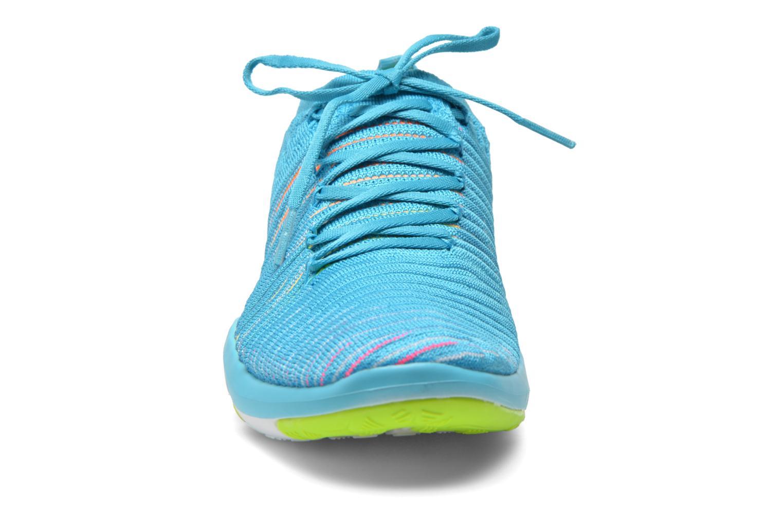 Zapatillas de deporte Nike Wm Nike Free Transform Flyknit Azul vista del modelo