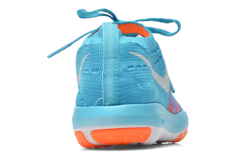 Zapatillas de deporte Nike Wm Nike Free Transform Flyknit Azul vista lateral derecha