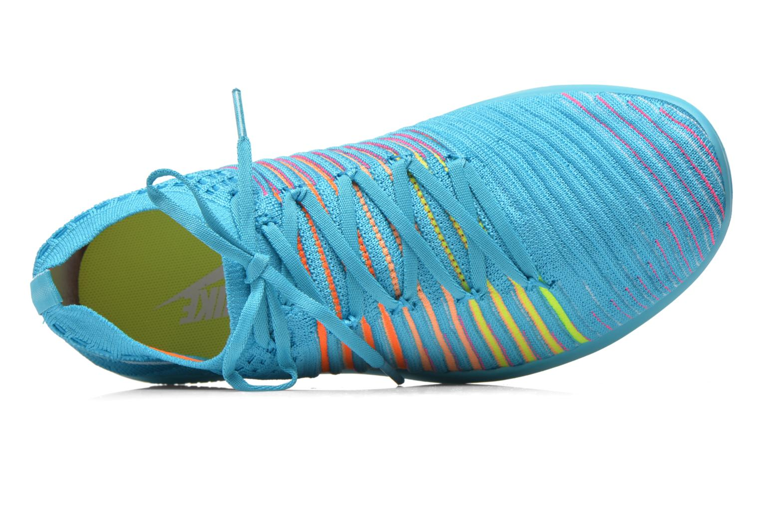 Sport shoes Nike Wm Nike Free Transform Flyknit Blue view from the left