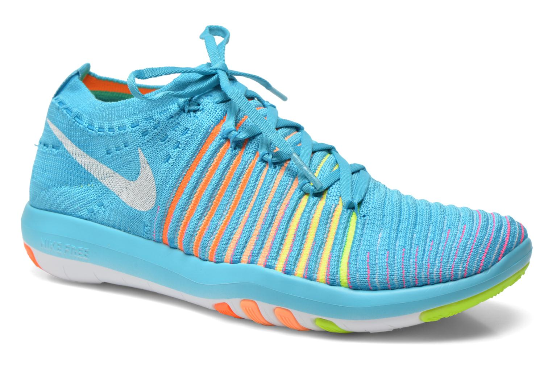 Sport shoes Nike Wm Nike Free Transform Flyknit Blue detailed view/ Pair view