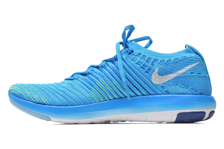 Sportssko Nike Wm Nike Free Transform Flyknit Blå se forfra