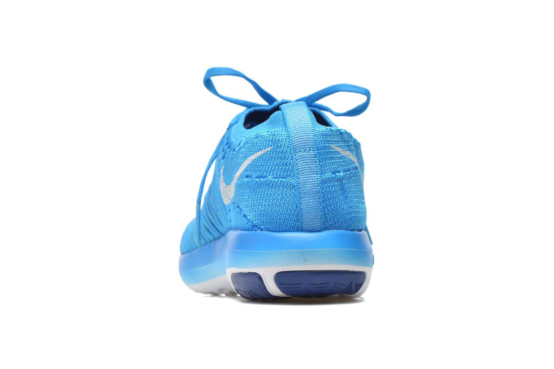 Chaussures de sport Nike Wm Nike Free Transform Flyknit Bleu vue droite