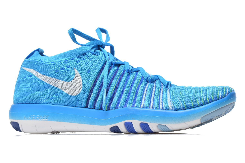 Sportssko Nike Wm Nike Free Transform Flyknit Blå se bagfra
