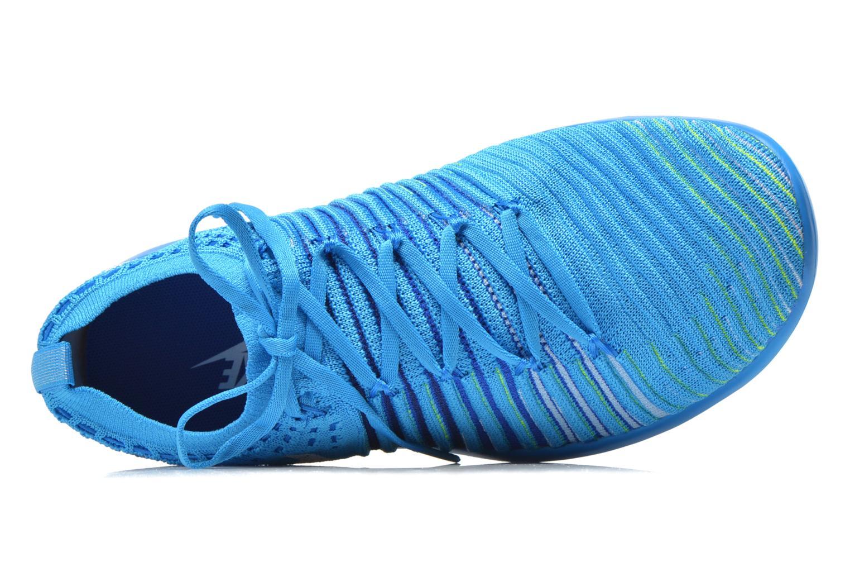 Chaussures de sport Nike Wm Nike Free Transform Flyknit Bleu vue gauche