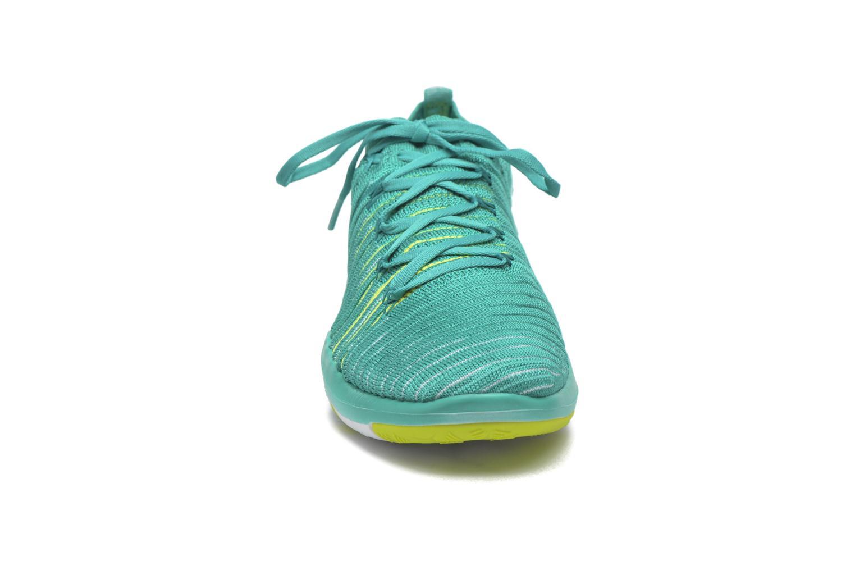 Sportschuhe Nike Wm Nike Free Transform Flyknit grün schuhe getragen