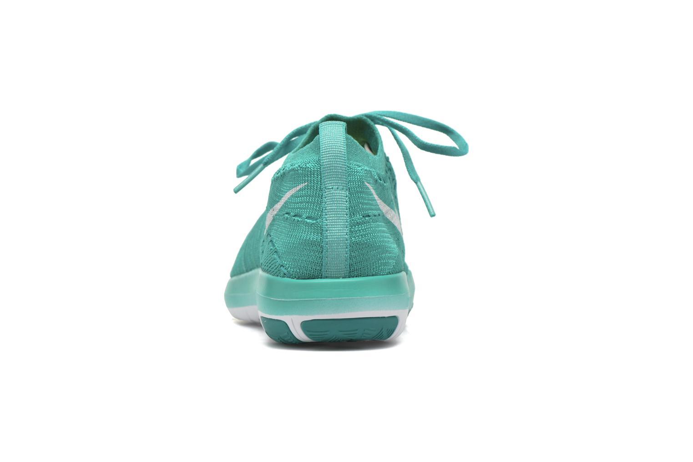 Sportschuhe Nike Wm Nike Free Transform Flyknit grün ansicht von rechts