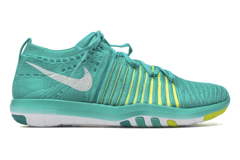 Sport shoes Nike Wm Nike Free Transform Flyknit Green back view