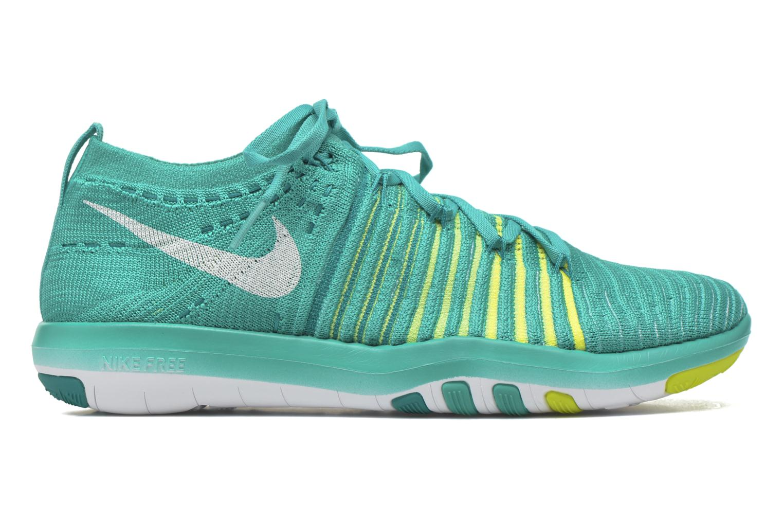 Sportschuhe Nike Wm Nike Free Transform Flyknit grün ansicht von hinten