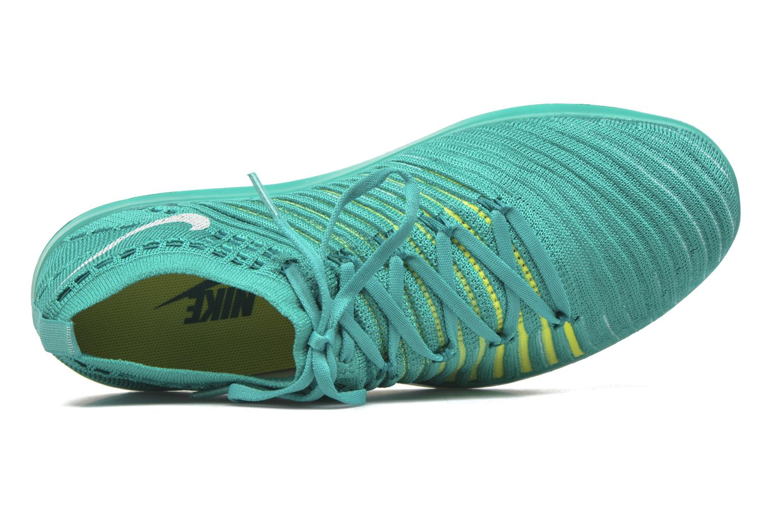 Wm Nike Free Transform Flyknit Clear Jade/White-R Tl-Vltg Grn