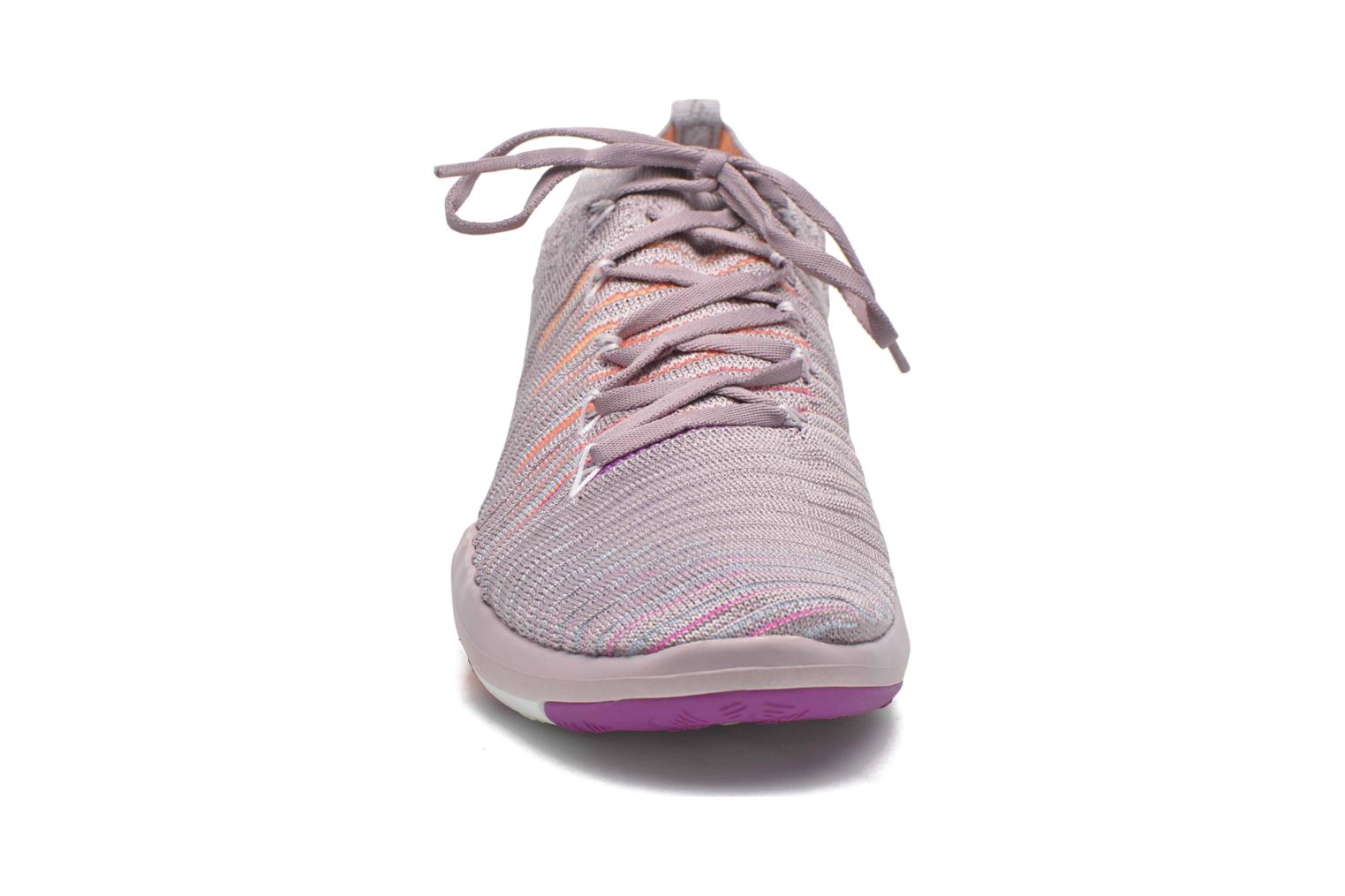 Wm Nike Free Transform Flyknit Plum Fog/Peach Cream-Bright Mango