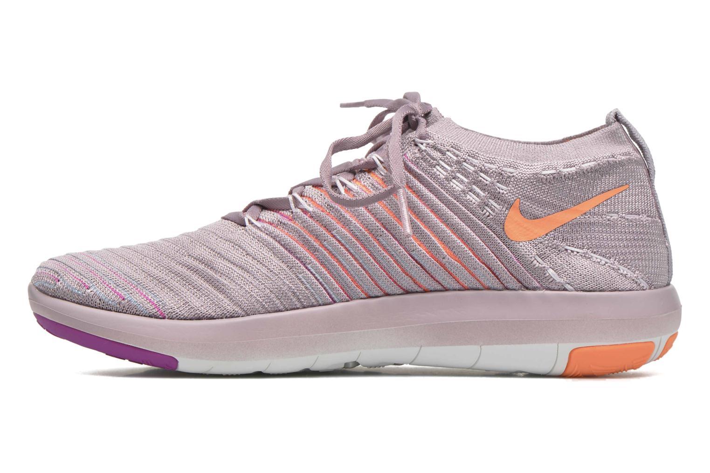 Sportschuhe Nike Wm Nike Free Transform Flyknit lila ansicht von vorne