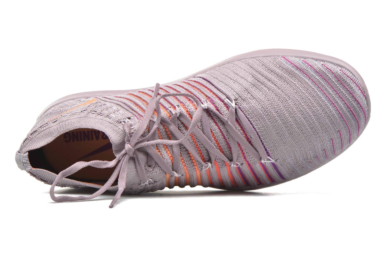 Sportschuhe Nike Wm Nike Free Transform Flyknit lila ansicht von links