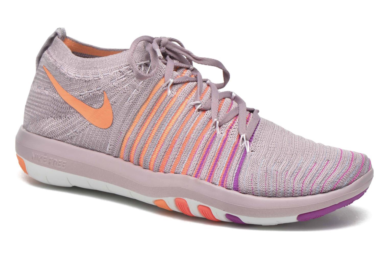 Chaussures de sport Nike Wm Nike Free Transform Flyknit Violet vue détail/paire