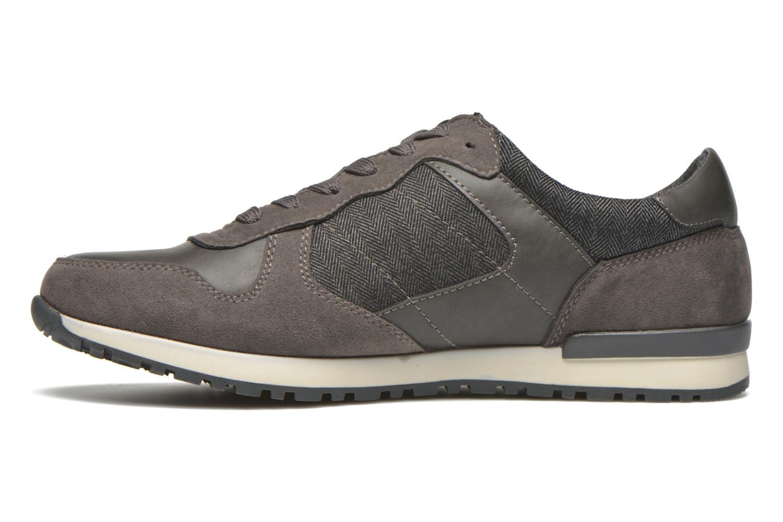 Sneaker I Love Shoes SUPERVISE grau ansicht von vorne