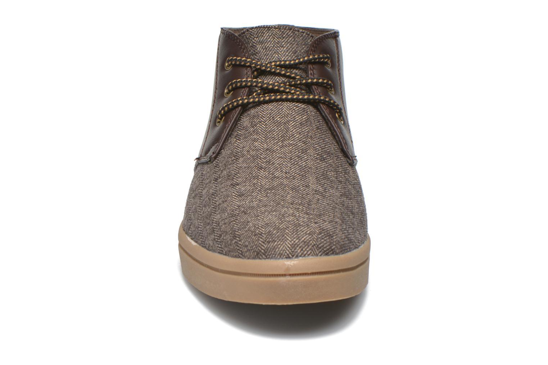 Baskets I Love Shoes SUPEVRON Marron vue portées chaussures