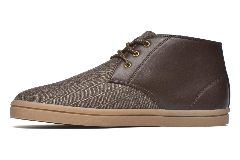 Sneaker I Love Shoes SUPEVRON braun ansicht von vorne